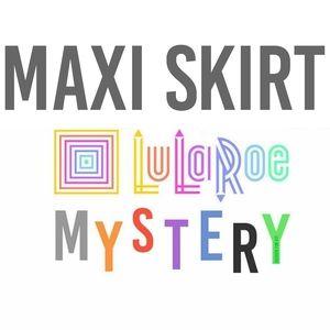 {LuLaRoe} Maxi Skirt -- Mystery Print or Solid